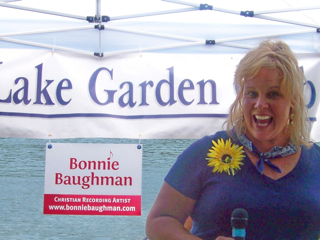 Bonnie was the MC for the 2010 Silver Lake Festival