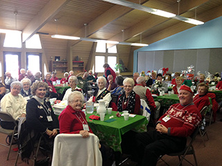 Christmas music for the Jackson Chapter of AARP