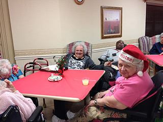 Christmas Party at Manorcare of Barberton