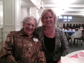 Bonnie with Mary Boehme